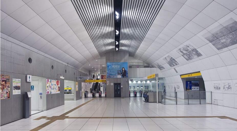 地铁站铝单板工程案例