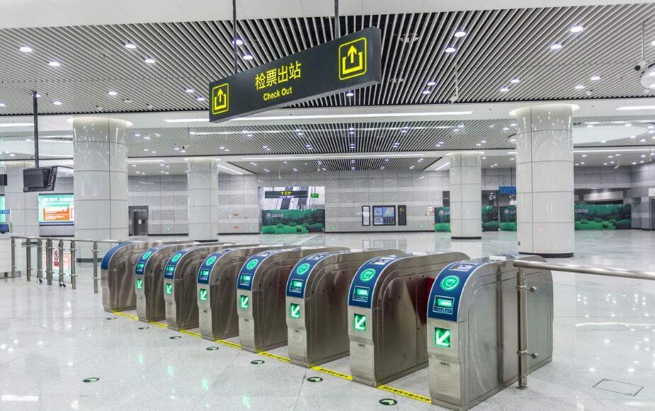 地铁站天花吊顶